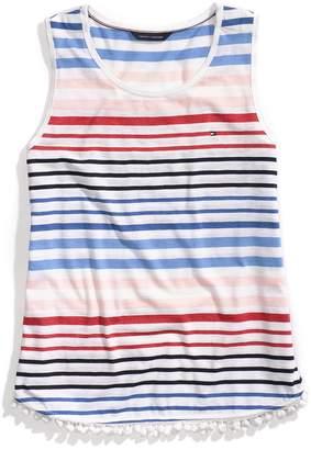 Tommy Hilfiger Stripe Sleeveless Shell