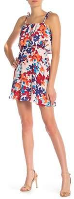 Parker Printed Popover Shift Dress