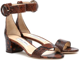 Jimmy Choo Jaimie 40 leather sandals