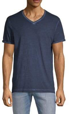G Star V-Neck Short-Sleeve Cotton Tee