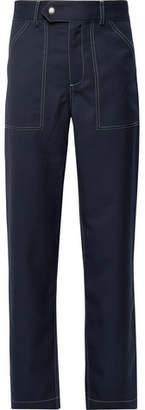 You As Oscar Wide-Leg Gabardine Trousers