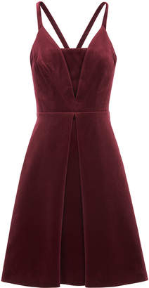 Whistles Suzie Velvet Dress