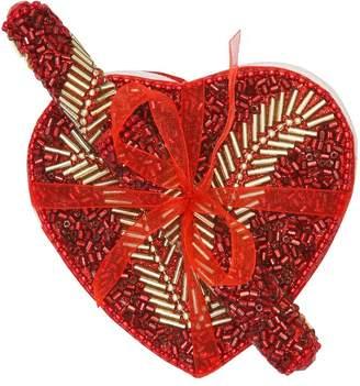 M&Co Embellished heart notebook and pen set