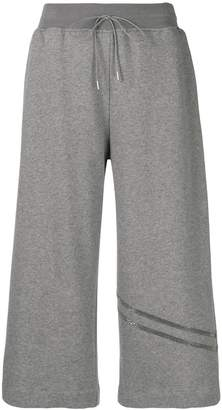 Fabiana Filippi elasticated waist cropped trousers
