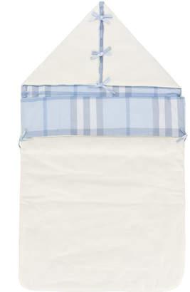 Burberry house check sleeping bag