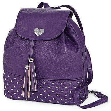 Betseyville by Betsey Johnson Mini Studded Backpack