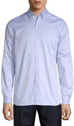 The Kooples Men's Plain Twill Button-Down Shirt