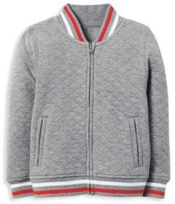 Janie and Jack Little Boy's & Boy's Quilted Bomber