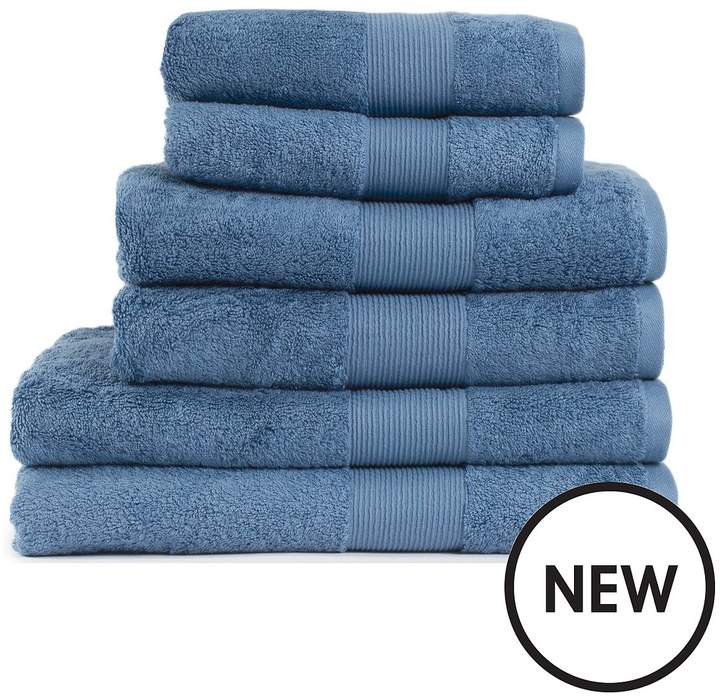 Everyday Collection Egyptian Cotton 650gsm Towel Range – Cornflower Blue