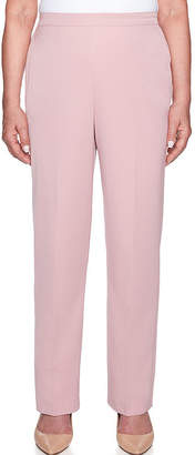 Alfred Dunner Home For The Holidays Classic Fit Twill Pull-On Pants