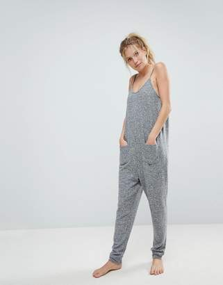 Asos Lounge Super Soft Touch Jumpsuit