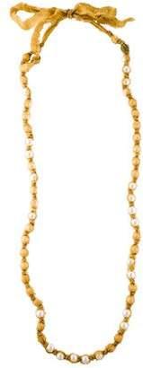 Lanvin Long Knot Necklace