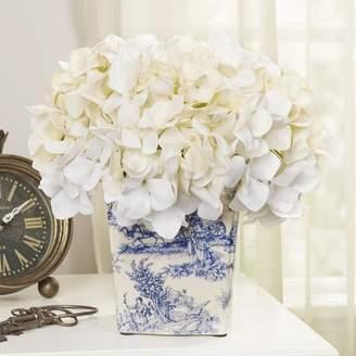 Birch Lane Hydrangea Asian Pot