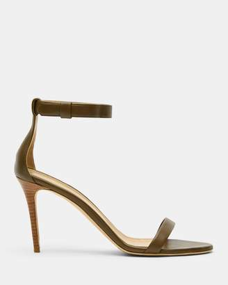 Theory Nappa High Heel Sandal