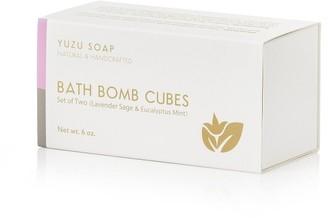 Yuzu Soap Variety Bath Bomb Cubes - Lavender Sage And Eucalyptus Mint