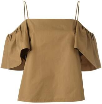 Fendi off-shoulder blouse