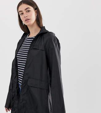 Asos Tall DESIGN Tall pac a mac jacket