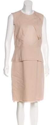 Cédric Charlier Sleeveless Knee-Length Dress w/ Tags