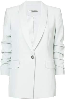 Alice + Olivia Alice+Olivia classic fitted blazer