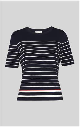 Whistles Breton Stripe Knitted Tee