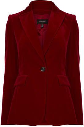Karen Millen Velvet Tailored Blazer