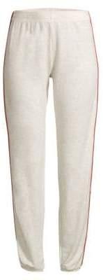 Monrow Side Striped Sweatpants