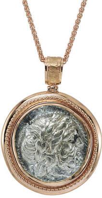 Jorge Adeler Authentic Philip II Coin Pendant in 18k Rose Gold