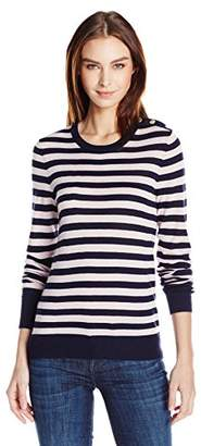 Equipment Women's Preppy Stripeondine with Buttons