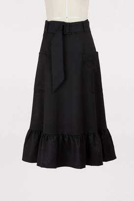 Maison Père Ruffled skirt