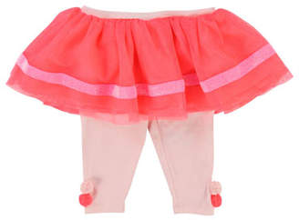 Billieblush Jersey Leggings w/ Attached Tulle Skirt, Size 12-18 Months