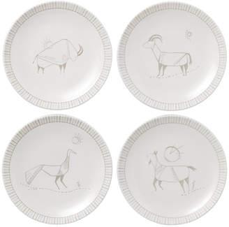 Royal Doulton Ellen DeGeneres Cave Painting Plates