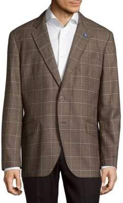 Tailorbyrd Tower Bridge Plaid Jacket