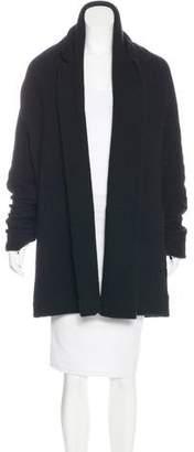 Y's Yohji Yamamoto Wool Open Front Coat