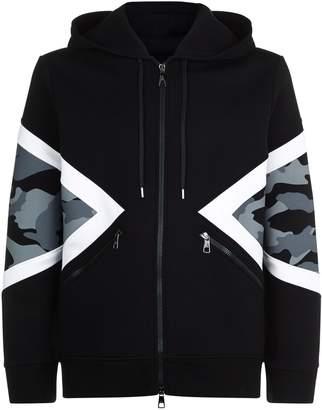 Neil Barrett Modernist Hooded Jacket