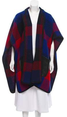 Barbara Bui Knit Open Front Cape w/ Tags