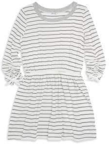 Splendid Girl's Stripe Long Sleeve Dress
