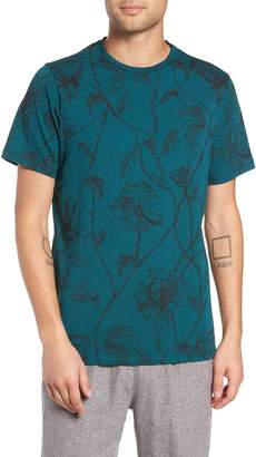 NATIVE YOUTH Floral Print T-Shirt