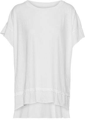Current/Elliott The High Low Cotton-Jersey T-Shirt