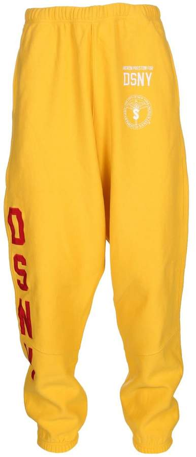 Heron Preston Yellow Dsny Sweatpants