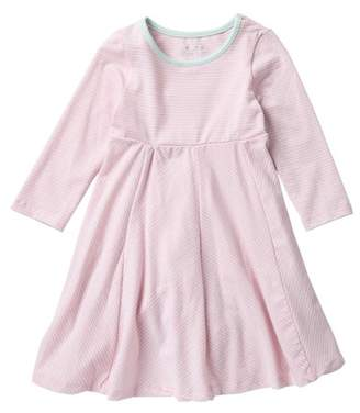 Pippa & Julie Metallic Stripe Knit Dress (Toddler Girls)