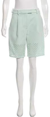 3.1 Phillip Lim Lasercut High-Rise Shorts