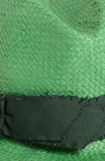 Tarnish Vintage Fedora Green One Size