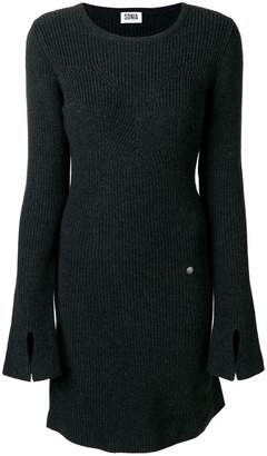Sonia Rykiel Sonia By long sleeved knitted dress