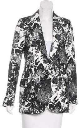 Stella McCartney Floral Print Notch-Lapel Blazer