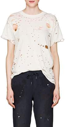 NSF Women's Moore Distressed Cotton T-Shirt
