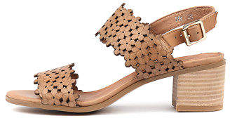 Django & Juliette New Dols Tan Womens Shoes Casual Sandals Heeled