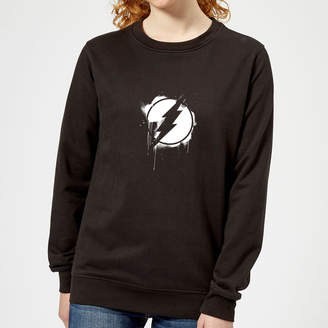 Justice League Graffiti The Flash Women's Sweatshirt