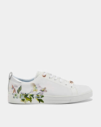 0740c64aa8fdd Ted Baker OROSA Printed tennis trainers