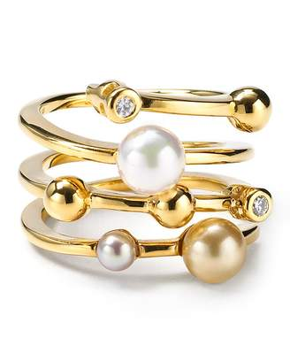 Majorica Endless Simulated Pearl Ring