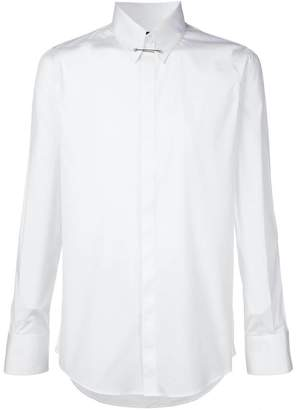 DSQUARED2 pinned collar shirt